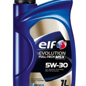 ELF EVOLUTION FULL TECH MSX 5W30